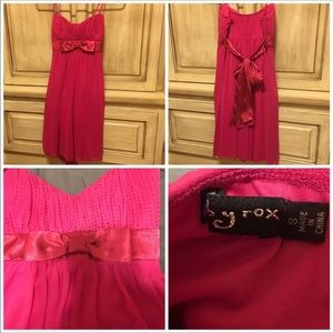 EUC Ruby Rox Pink Party Dress Size Small